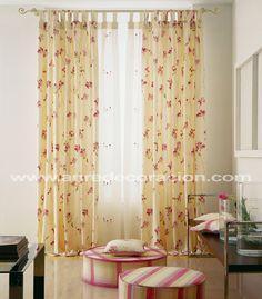 M s de 1000 ideas sobre visillos en pinterest cortinas - Visillos cocina confeccionados ...