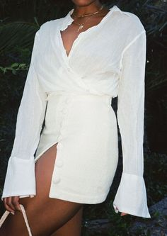 Mel in the Summer Skirt #thelinebyk