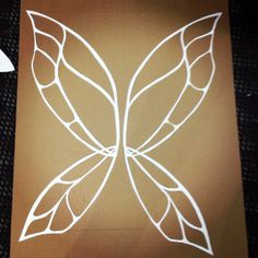DIY Cellophane Fairy Wings | DIY: Cellophane Poster Board Wing Tutorial (with a harness)