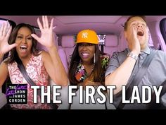 James Corden's White House tour takes an unthinkable turn when First Lady Michelle Obama joins him for a drive around the grounds singing Stevie Wonder and B...