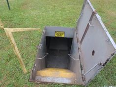 picture of Door going down - Storm cellar & Vintage Ted Williams Canvas Cabin Tent from Sears. | Outdoors ...