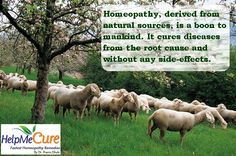 Homeopathy medicines are natural and safe as they are derived from natural sources. Pin this post to help us in our mission to create awareness about benefits of Homeopathy...
