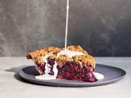 Black-and-Blue Pie with Brown Sugar Crumb Recipe - Nicole Rucker