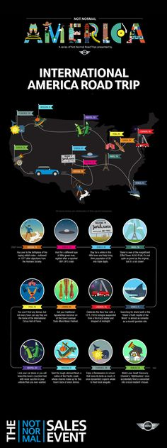 An International America Road Trip - presented by MINI USA and SlateCustom Places To Travel, Places To See, Mini Usa, Normal Cars, Ill Fly Away, Another A, Travel Deals, Travel Usa, Travel Guides