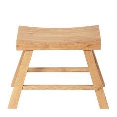 Pall Saga, 46x39x23 cm, brun Kitchen Cart, Outdoor Furniture, Outdoor Decor, Saga, Scandinavian, Stool, Minimalist, Interior Design, Retro