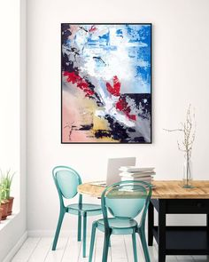 Extra Large Wall Art Original Handpainted Contemporary XL Abstract Painting Horizontal Vertical Huge Size Art Bright and Colorful Texture Painting On Canvas, Canvas Art, Canvas Paintings, Large Canvas, Abstract Paintings, Large Painting, Hallway Art, Office Wall Art, Hallway Ideas