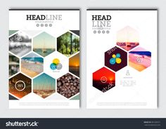 Business Brochure Design Template. Vector Flyer Layout, Blur Background With Elements For Magazine, Cover, Poster Design. A4 Size. - 381209371 : Shutterstock