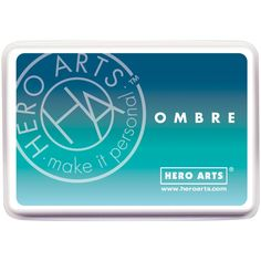 Yeah.. you saw that correctly. New ombre ink pads by Hero Arts! I cannot wait to get my hands on these!