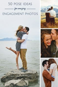 50 super cute pose ideas for your #Engagement photos. See them all here → http://howheasked.com/cute-engagement-photo-ideas
