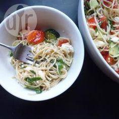 Spaghettisalat aus Resten @ de.allrecipes.com