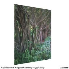 Magical Forest Wrapped Canvas