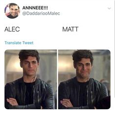 Shadowhunters Malec, Shadowhunters The Mortal Instruments, Matthew Daddario, Alec And Jace, Alec Lightwood, Jace Wayland, Cassandra Clare Books, World Quotes, The Dark Artifices