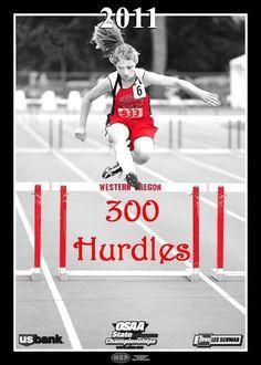 8th Hurdle. 6th Lane. 2nd Heat. 2a. Oregon. 2011.
