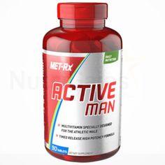 Met-Rx, Active Man Daily Multivitamin  - 90ct