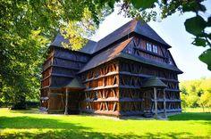 SLOVAKIA. Wooden Churches of the Slovak part of the Carpathian Mountain Area.