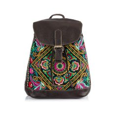 Boho Plecak Color of Illusion Flowers - Bright-Boho - Plecaki i torby