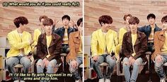 Omg Juniors face #got7 #funny << Someone else described Jr and Yugyeom like Tom and Jerry.. it fits.. love it