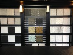 Perini Tiles- Tile displays at the Sandringham showroom Showroom Ideas, Tile Showroom, Showroom Design, Interior Design, Tile Stores, 3d Design, Wall Tiles, Mood Boards, Display