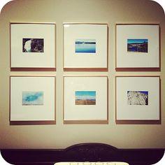 gold frame photos