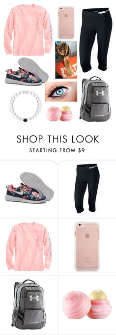 """""""School tomorrow"""" by ll1021 ❤ liked on Polyvore featuring NIKE, Vineyard Vines, Under Armour and Eos"""