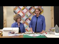 http://video.fonsandporter.com: In this tutorial, the Fons & Porter staff show you how to make the Scrappy Duo quilt.