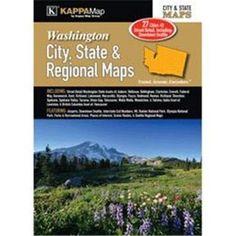 Universal Map 17009 Washington City, State & Reg Map, As Shown