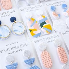 ✖SET YOUR ALARMS ✖ Our @winterbloomdesign restock is online @giftsatteacup tomorrow night at 8pm AEST (Sunday 24th Sept)! You don't want to miss this - over 130 pairs of earrings will be available!! #giftsatteacup #winterbloom #handmade #handpainted #madeinaustralia #madebyhand #ruralqld #ruralbusiness #womeninbusiness #roma #teacherstyle #whattowear #boutique #new #restock #jewellery #jewelry #earrings #shophandmade #shopsmall #onlineshopping #online #shop #christmasiscoming #fashion…