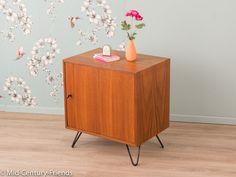 Vintage Kommoden - Exklusiver Nachttisch, Kommode, 60er, TEAK Vintage - ein Designerstück von Mid-Century-Friends bei DaWanda