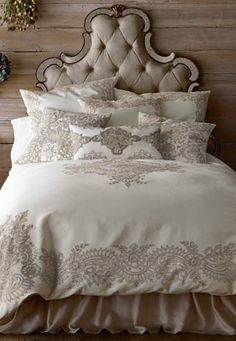 pretty lace embroidered bed linens  http://rstyle.me/n/nvg26pdpe