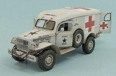 US Navy WC-54 Dodge Ambulance