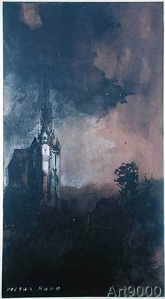 Victor Hugo - The Castle in the Moonlight