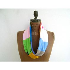 T-Shirt Scarf Women's Tee Scarf Womens Scarf Infinity Scarf... ($25) ❤ liked on Polyvore featuring ohzie