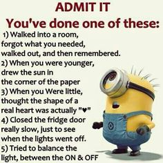 what……pshhhhh…nah… I haven't done one of them … I've down all of them Funny Minion Memes, Minions Quotes, Funny Jokes, Funny Pics, Funny Pictures, Comebacks, Comedy, Funny Things, Funny Photos