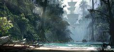 Concept Art World » Assassin's Creed IV Black Flag Concept Art by Martin Deschambault