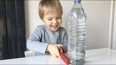 Educational Activity For Toddlers And Preschoolers: Magnet Discovery Bottle - YouTube