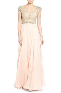 Get the Look: Taylor Swift's Blush + Gold Reem Acra Maid of Honor Dress Pink Gowns, Blush Dresses, Prom Dresses, Pink Dress, Maid Of Honour Dresses, Maid Of Honor, Bridesmaid Outfit, Bridesmaids, Best Man Wedding