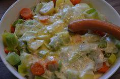Kartoffel-Möhren-Lauch-Auflauf