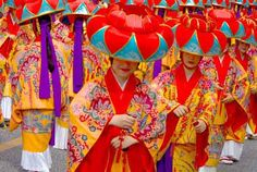 Traditional Okinawan dress by Mike Lynch