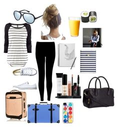 No. 216 by emmurray-md on Polyvore featuring H&M, Converse, River Island, Globe-Trotter, Zero Gravity, Ray-Ban, Smashbox and KEEP ME