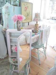 Vintage chippy painted seashell pink metal cabinet cabinet cottage chic shabby chic prairie