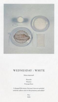 La dieta cromática creada por Paul Auster - Yorokobu