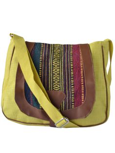 #slingbag #jute #jutebag #yellow Available at www.earthenme.com