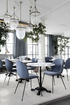 Verandah Restaurant Copenhagen - beautiful Scandinavian design by design duo Stine Gam and Enrico Fratesi