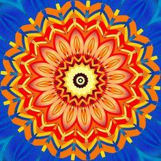 renouveau ; renewal ; renovação Mandala de Pierre Vermersch Digital Drawings