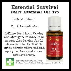 Use R.C. blend for tuberculosis.