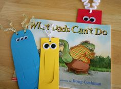 Fathers Day Paper Bookmark