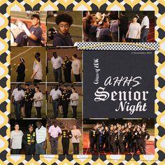 Paxtyn Senior Album: Senior Night
