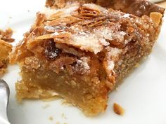 Make Ahead Desserts, Delicious Desserts, Tart Recipes, Cooking Recipes, Almond Tart Recipe, My Dessert, Italian Desserts, Almond Cakes, Desert Recipes