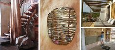 """7 Principios Naturales de Diseño para un hogar más """"vivo"""". 1. Usar materiales naturales. Siempre que puedas, utiliza materiales naturales como la madera, la piedra y las formas de construcción de barro. Nos hacen sentir mucho mejor que los materiales sintéticos o compuestos. También suelen ser más saludables para ti y para el planeta."""