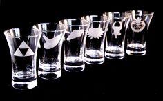 ::::: New Product ::::: Set of 6 Zelda Shot Glasses  ift.tt/2yLqako #Etsy #EventCapture #Engraving #HandEngraved #Engraved #Bespoke #Personalised #Gift #Christmas #NewBorn #present #Friend #Link #zelda #shotglasses #shot #glasses #ocarina #sword #shield #giftsformen #giftsforwomen #gameboy #retro #gamer